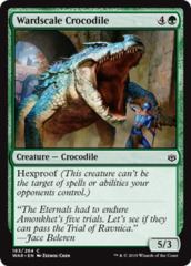 Wardscale Crocodile - Foil