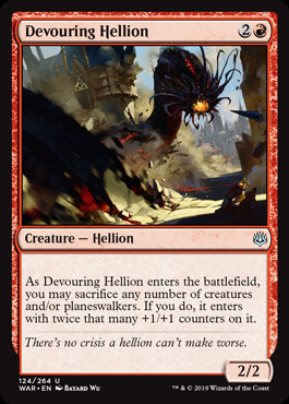 Devouring Hellion - Foil