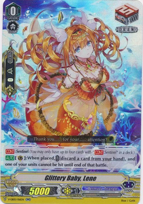 Glittery Baby, Lene - V-EB05/016EN - RR