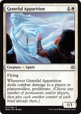 Grateful Apparition - Foil