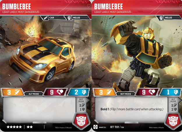 Bumblebee - Least Likely, Most Dangerous