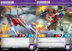 Starscream - Decepticon Lieutenant