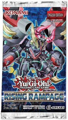 Yu-Gi-Oh! Rising Rampage Booster Pack