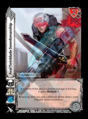 Aval Twinblade Swordsmanship