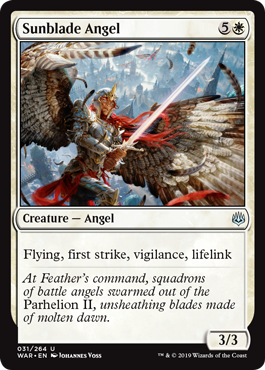 Sunblade Angel - Foil
