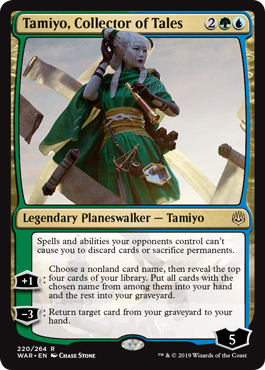 Tamiyo, Collector of Tales - Foil