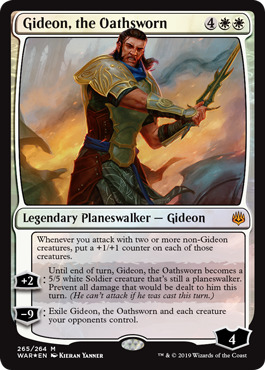 Gideon, the Oathsworn - Foil