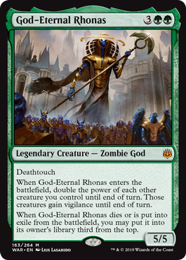 God-Eternal Rhonas - Foil