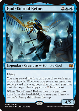God-Eternal Kefnet - Foil