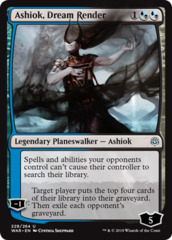 Ashiok, Dream Render - Foil on Channel Fireball