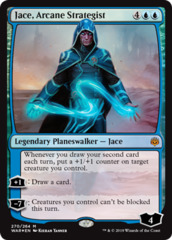 Jace, Arcane Strategist - Foil Planeswalker Deck Exclusive