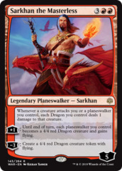 Sarkhan the Masterless - Foil