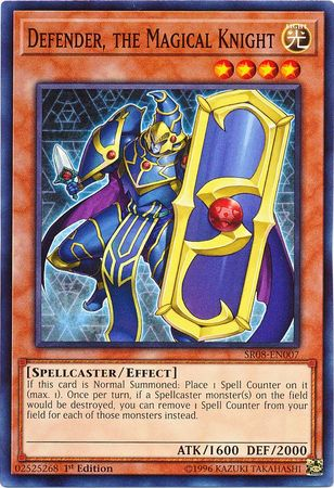 Defender, the Magical Knight - SR08-EN007 - Common - 1st Edition