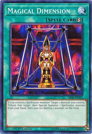 Magical Dimension - SR08-EN031 - Common - 1st Edition
