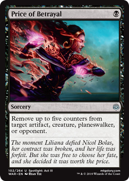 Price of Betrayal - Foil