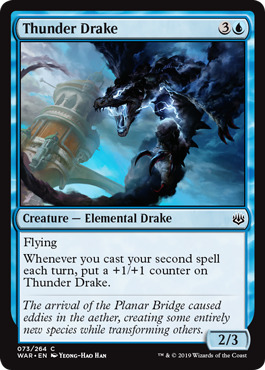 Thunder Drake - Foil