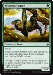 Arboreal Grazer - Foil on Channel Fireball