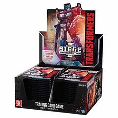 Transformers TCG - War for Cybertron Siege I Booster Box