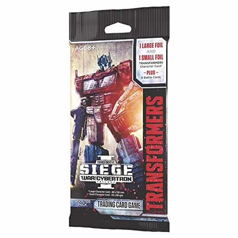 Transformers TCG - War for Cybertron Siege I Booster Pack