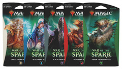 War of the Spark - All 5 Theme Booster Packs