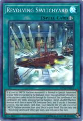 Revolving Switchyard - OP10-EN011 - Super Rare - Unlimited Edition