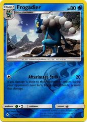 Frogadier - 52/214 - Uncommon - Reverse Holo