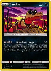 Sandile - 114/214 - Common - Reverse Holo
