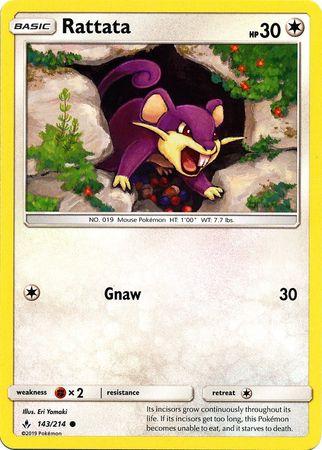 Rattata - 143/214 - Common