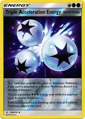 Triple Acceleration Energy - 190/214 - Uncommon - Reverse Holo