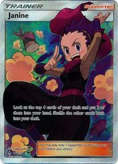Janine - 210/214 - Full Art Ultra Rare