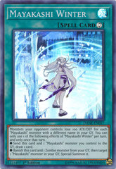 Mayakashi Winter - DANE-EN057 - Super Rare - 1st Edition