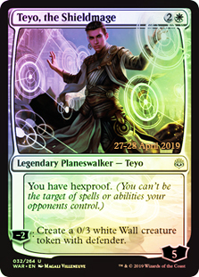 Teyo, the Shieldmage - Foil - Prerelease Promo