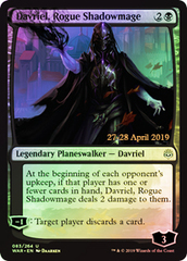 Davriel, Rogue Shadowmage (WAR Prerelease Foil)
