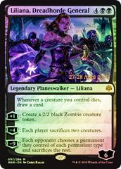 Liliana, Dreadhorde General (WAR Prerelease Foil)