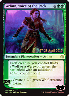 Arlinn, Voice of the Pack - Foil - Prerelease Promo