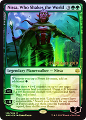 Nissa, Who Shakes the World - Foil - Prerelease Promo
