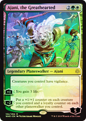 Ajani, the Greathearted - Foil - Prerelease Promo