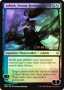 Ashiok, Dream Render (WAR Prerelease Foil)