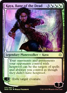 Kaya, Bane of the Dead - Foil - Prerelease Promo