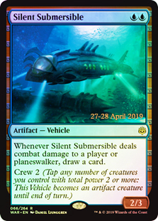Silent Submersible (WAR Prerelease Foil)