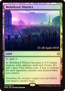Mobilized District - Foil - Prerelease Promo