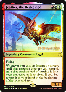 Feather, the Redeemed - War of The Spark Foil