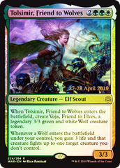 Tolsimir, Friend to Wolves - Foil - Prerelease Promo