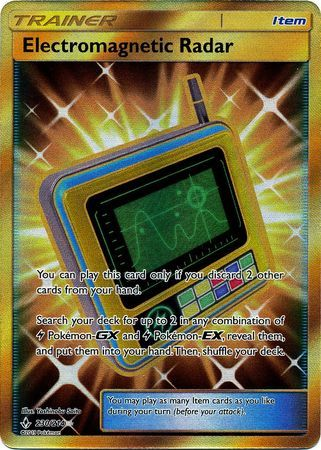 Electromagnetic Radar - 230/214 - Secret Rare