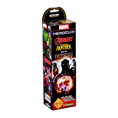 Marvel HeroClix: Avengers Black Panther and the Illuminati Booster