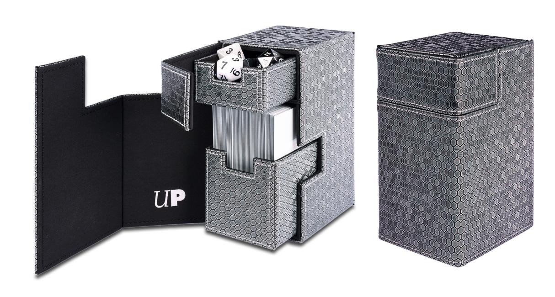 Ultra Pro - M2 Limited-Edition Dark Steel Deck Box