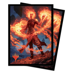 Ultra Pro - MTG Core Set 2020 Chandra, Awakened Inferno 80 Count Standard Sleeves (UP18102)