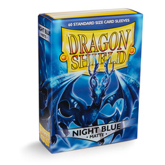 Dragon Shield: Night Blue - Xon - Matte Sleeves (Box of 60)
