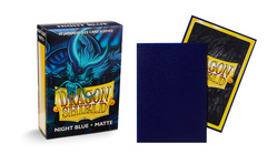 Dragon Shield Night Blue Delphion (Japanese) Matte Sleeves (Box of 60)