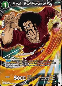 Hercule, World Tournament King - P-161 - PR - Dragon Ball